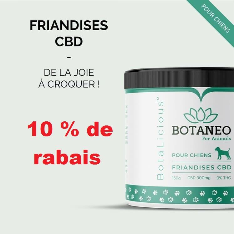 Code Promo BOTANEO 10% - Friandises pour chien